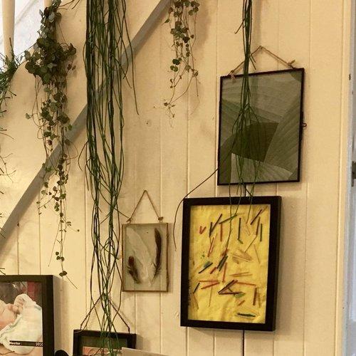 Nordal fotolijst hangend - koper, glas - 18 x 13 cm