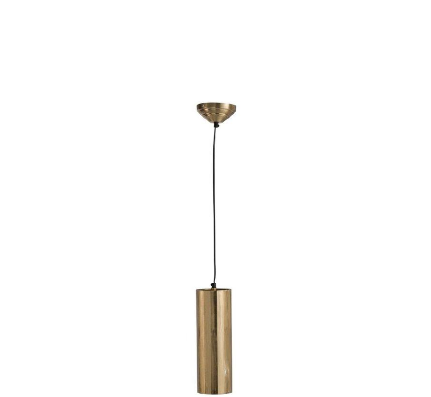 Hanglamp Cilinder Metaal Goud