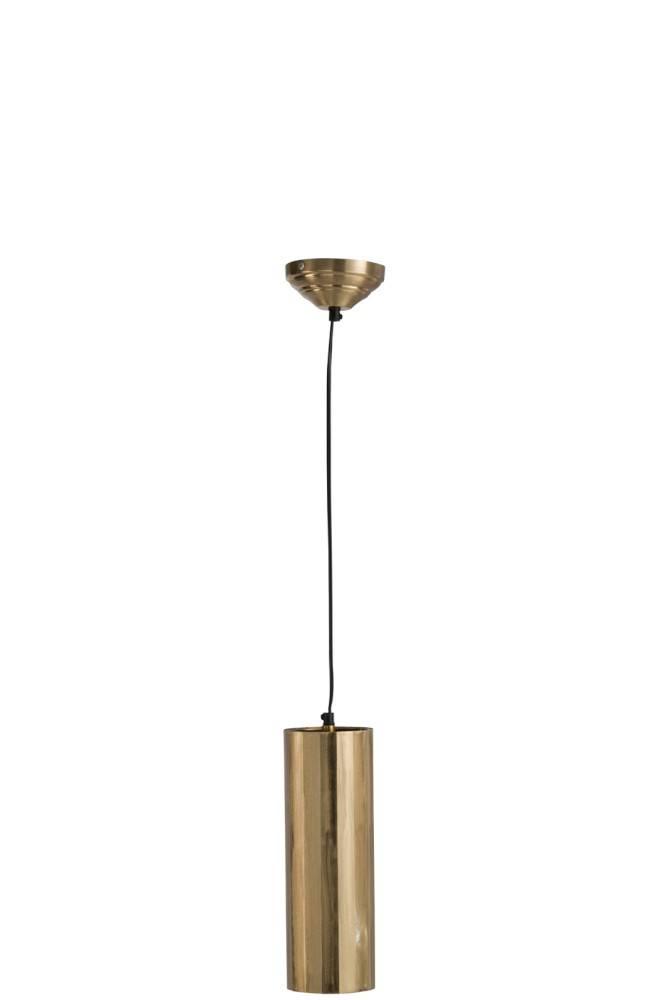 J-line Hanglamp Cilinder Metaal Goud Large-88066-