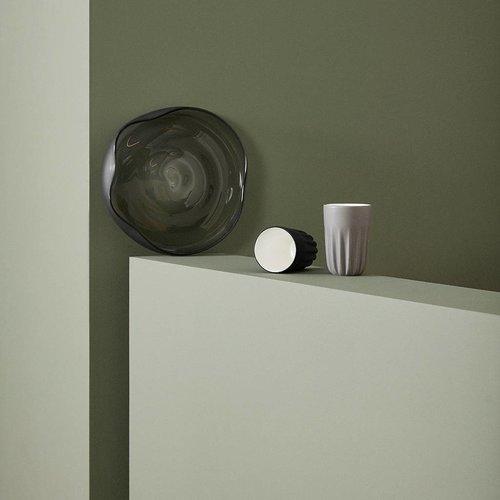 Hubsch Mok porselein grijstinten - set van 3