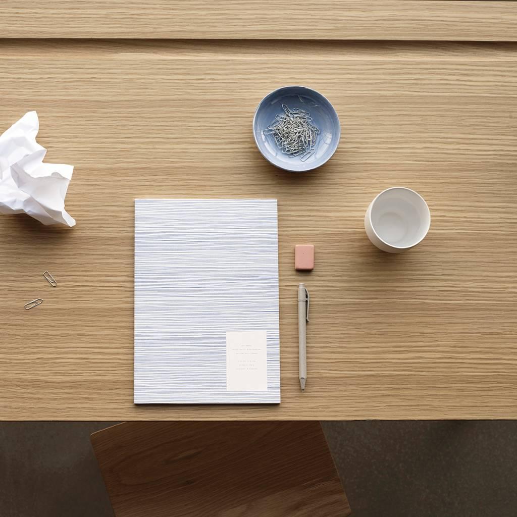 Hubsch Kop porselein wit groot, set van 4
