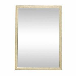 Hubsch spiegel hout - 35 x h 50 cm - 889045 - eiken