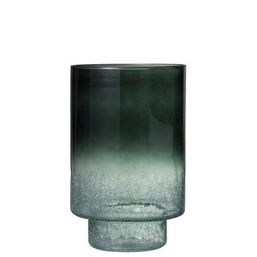 Winkel voor Thuis Collectie Vaas+vt  rond cra bod gl d grn (25x25x39cm)