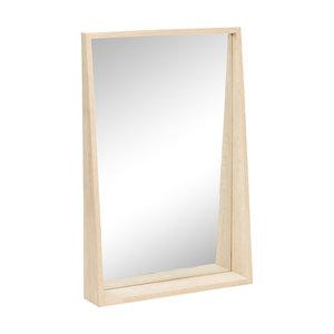 Hubsch spiegel eikenhout - 60 x 90 cm - 880313