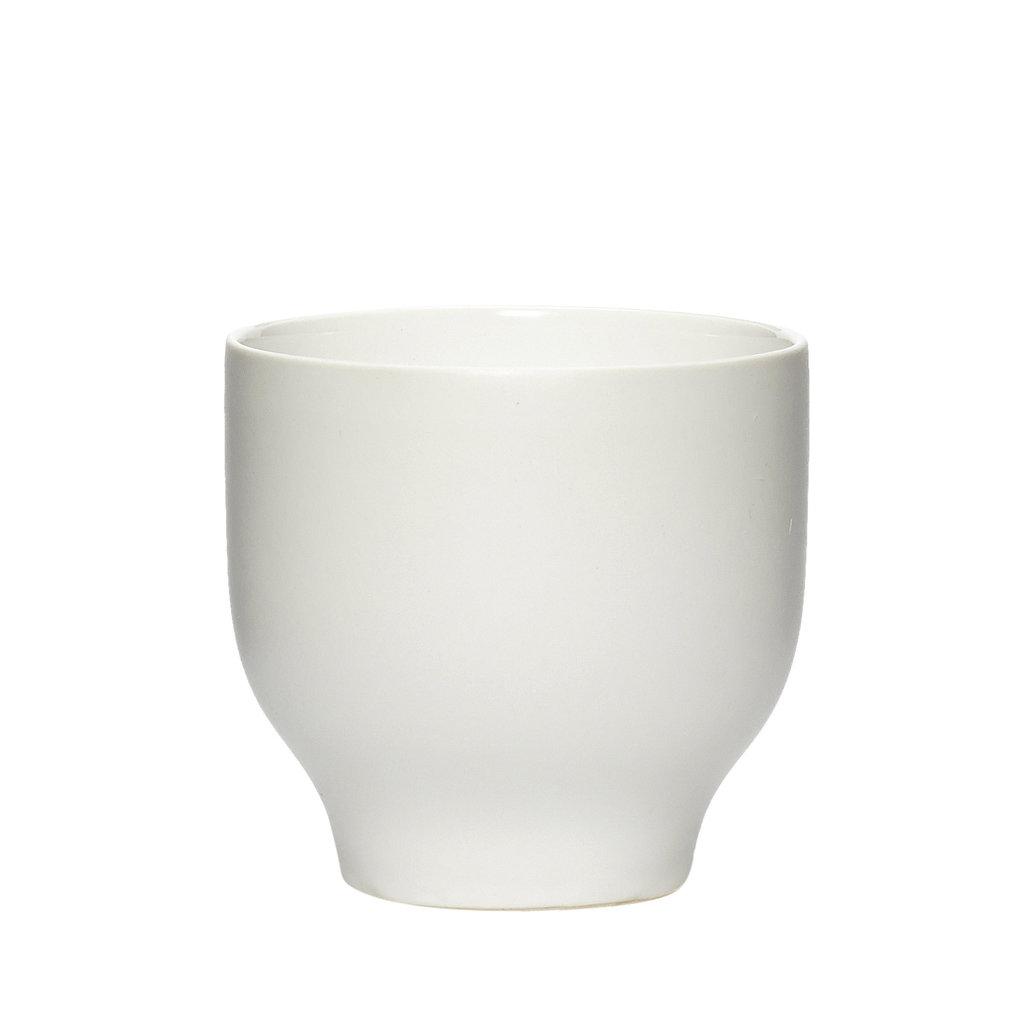 Hubsch beker - wit porselein - set van 4 - 719023