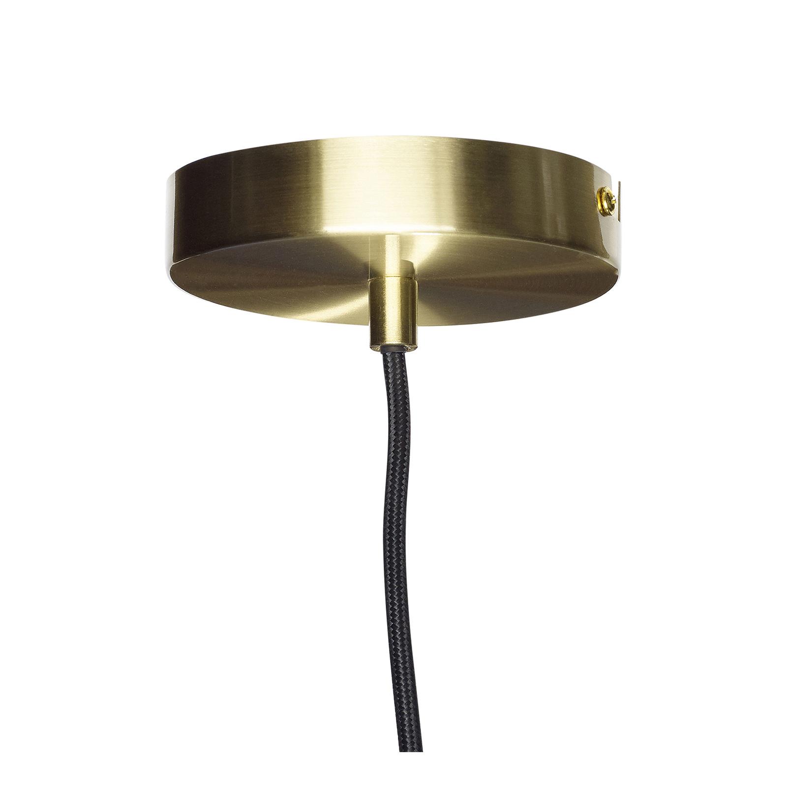 Hubsch Hanglamp Bollen - 890504 - Glas, Goud messing - incl. lamp-890504-5712772061923