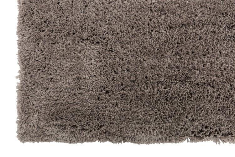 J-line Vloerkleed Polyes effen grijs - 300 x 200 cm-98463-