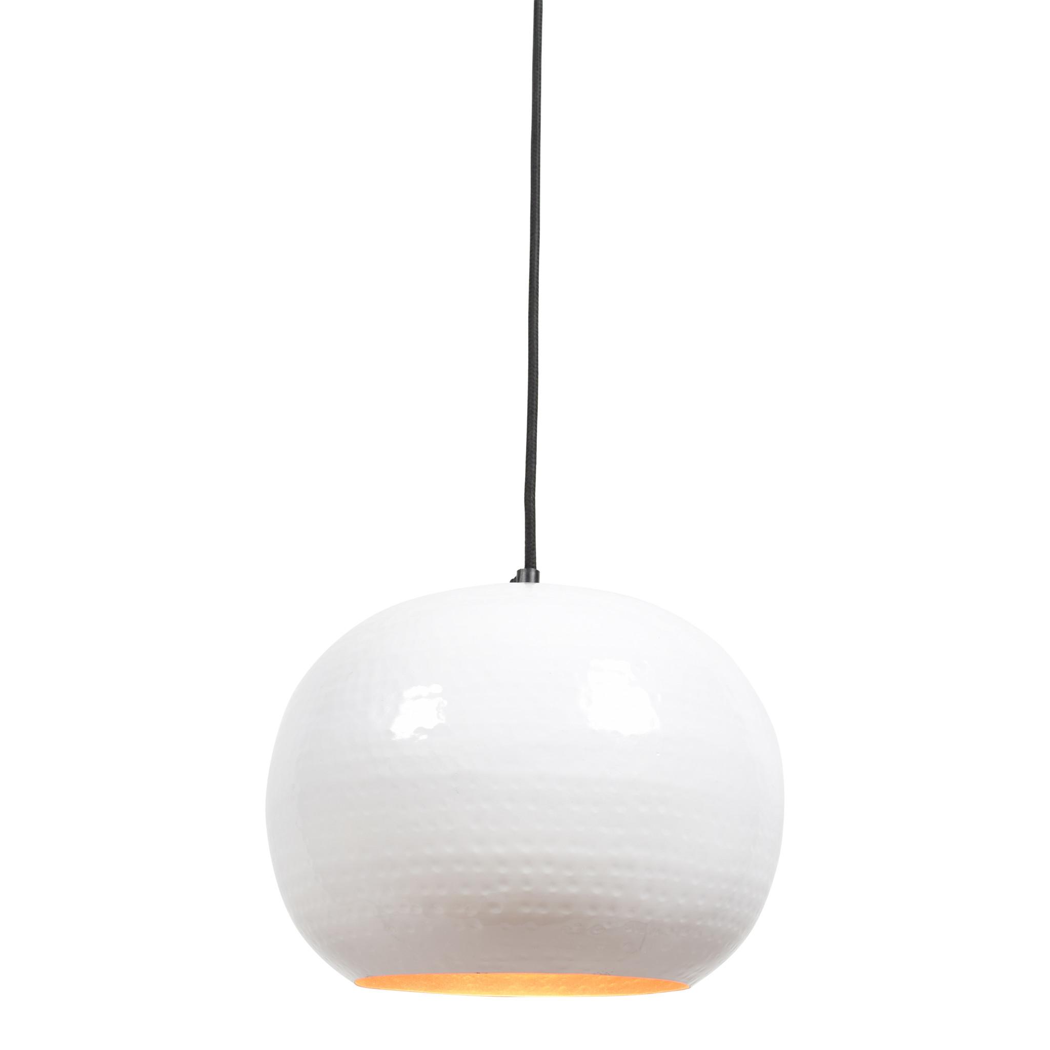 Urban Interiors Urban Interiors Hanglamp Artisan  ø27cm. Glossy white