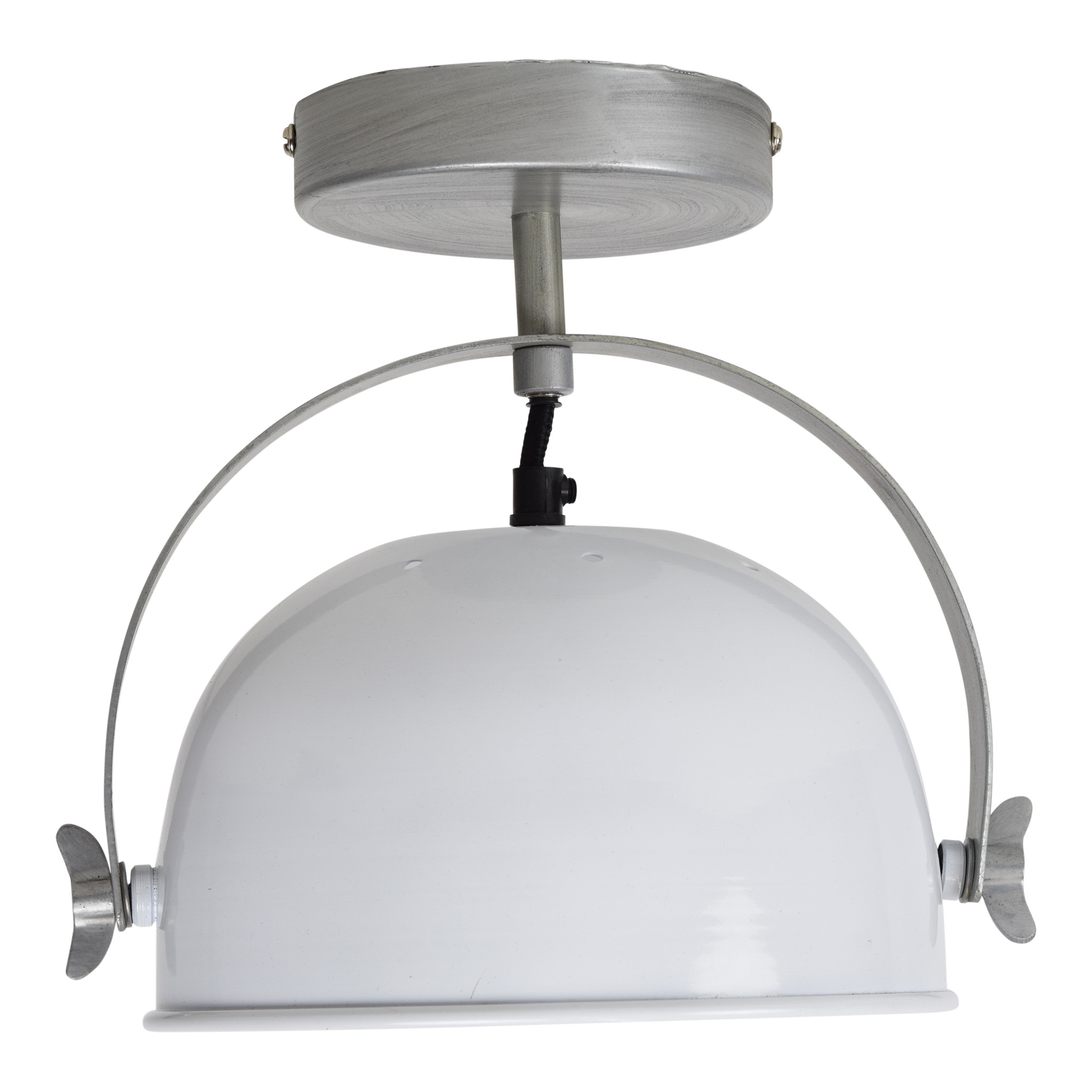 Urban Interiors Urban Interiors Plafondlamp Retro ø22cm Glossy white-AI-WL-10-W-PL-8718868314949
