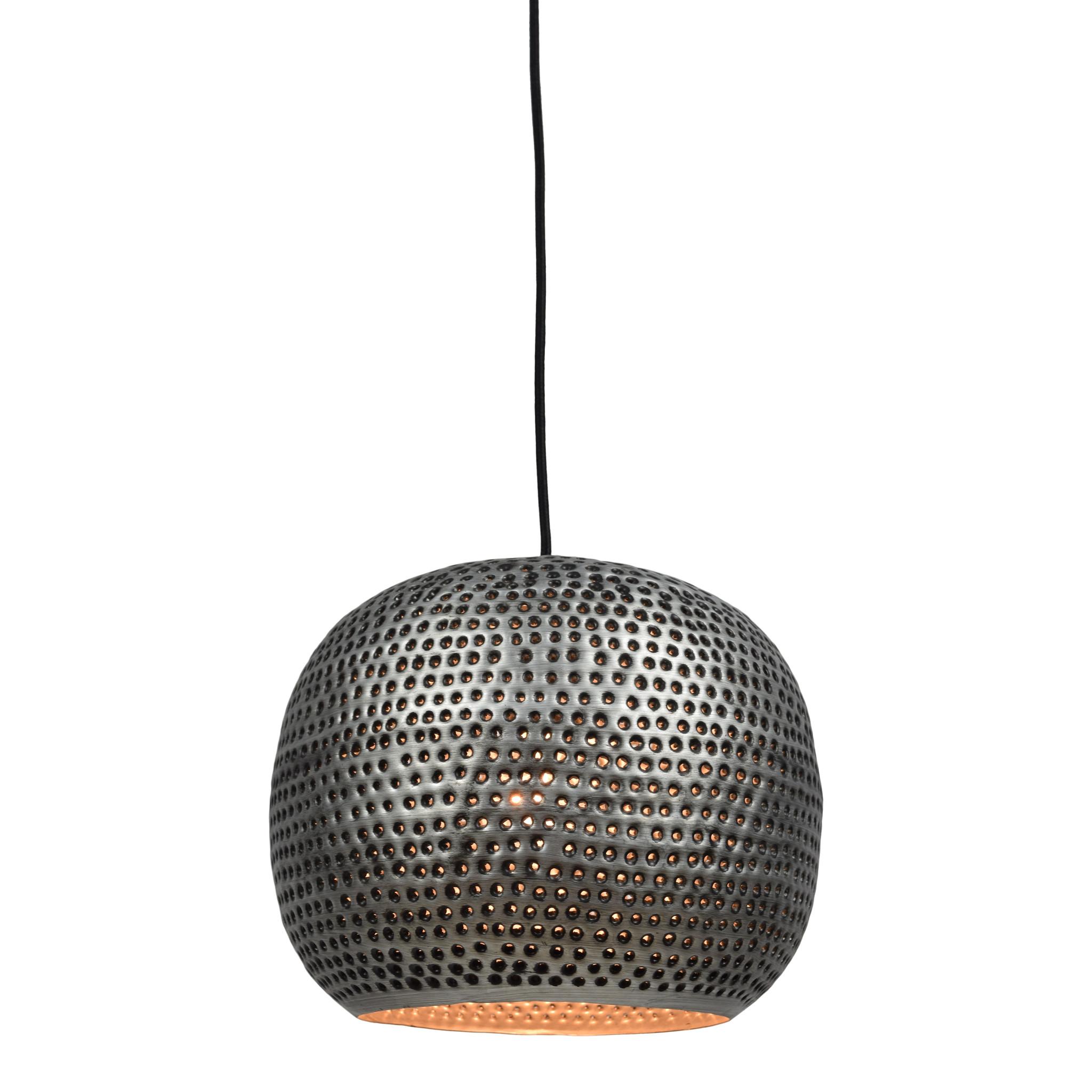 Urban Interiors Urban Interiors Hanglamp Spike bol ø27cm zink-AI-PL-002B-Z-8719325005943