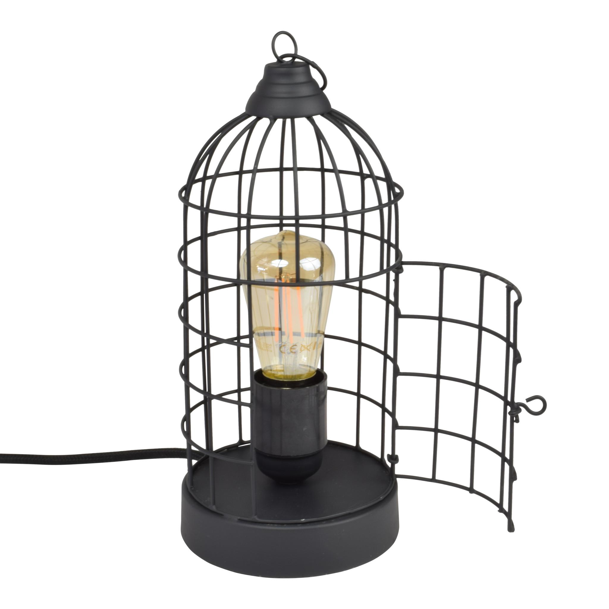 Urban Interiors Urban Interiors Tafellamp Birdy Mat zwart