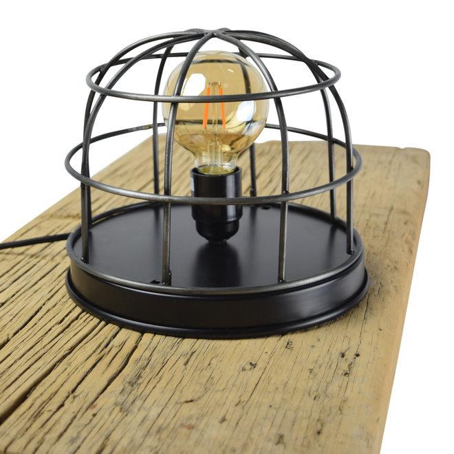 Tafellamp Barn large ø22 x 21 vintage black