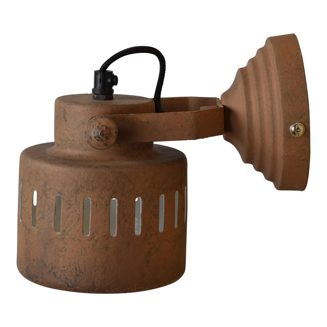 Wandlamp Vintage ø11,5cm rusty