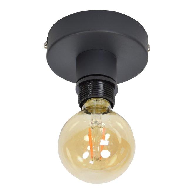 Urban Interiors Plafondlamp Single vintage black