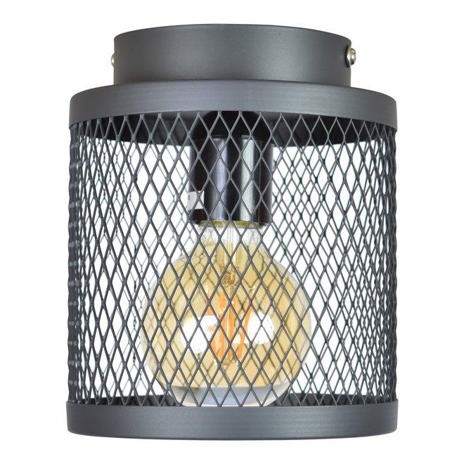 Plafondlamp Fence ø18cm. vintage black
