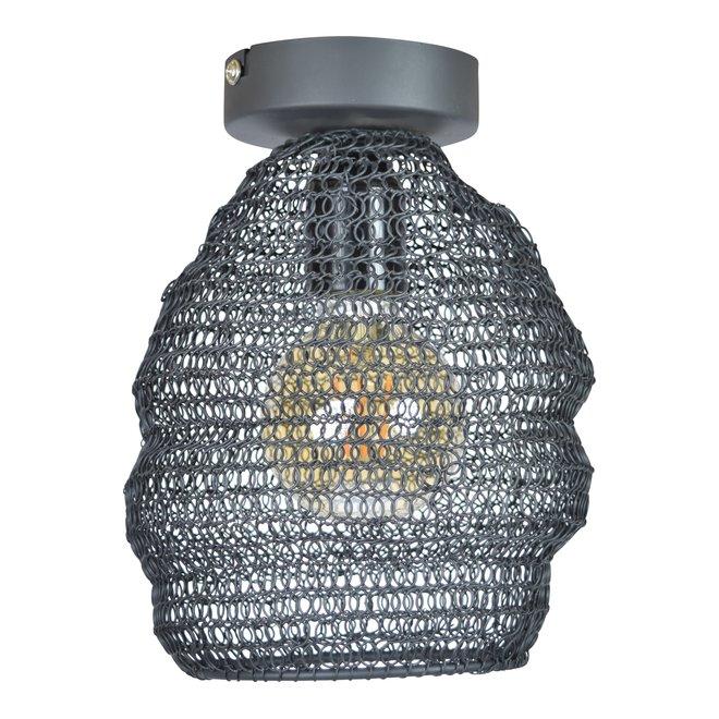 Plafondlamp Mesh ø15 vintage black