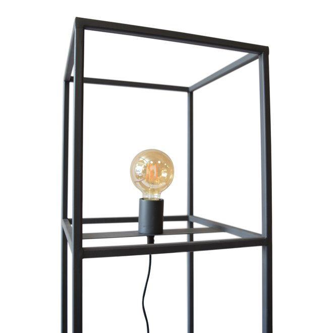 Urban Interiors Vloerlamp Frame 30x30x120 Zwart