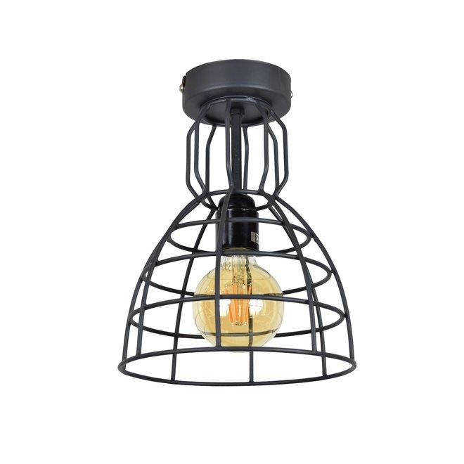 Plafondlamp Francis Small ø20x28 Vintage black