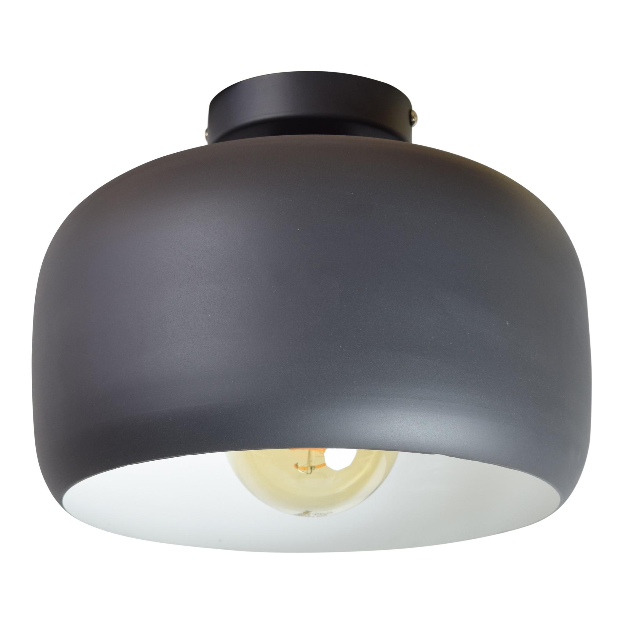 Urban Interiors Urban Interiors Plafondlamp Ivy ø30x22 vintage black-13012-8719325467062