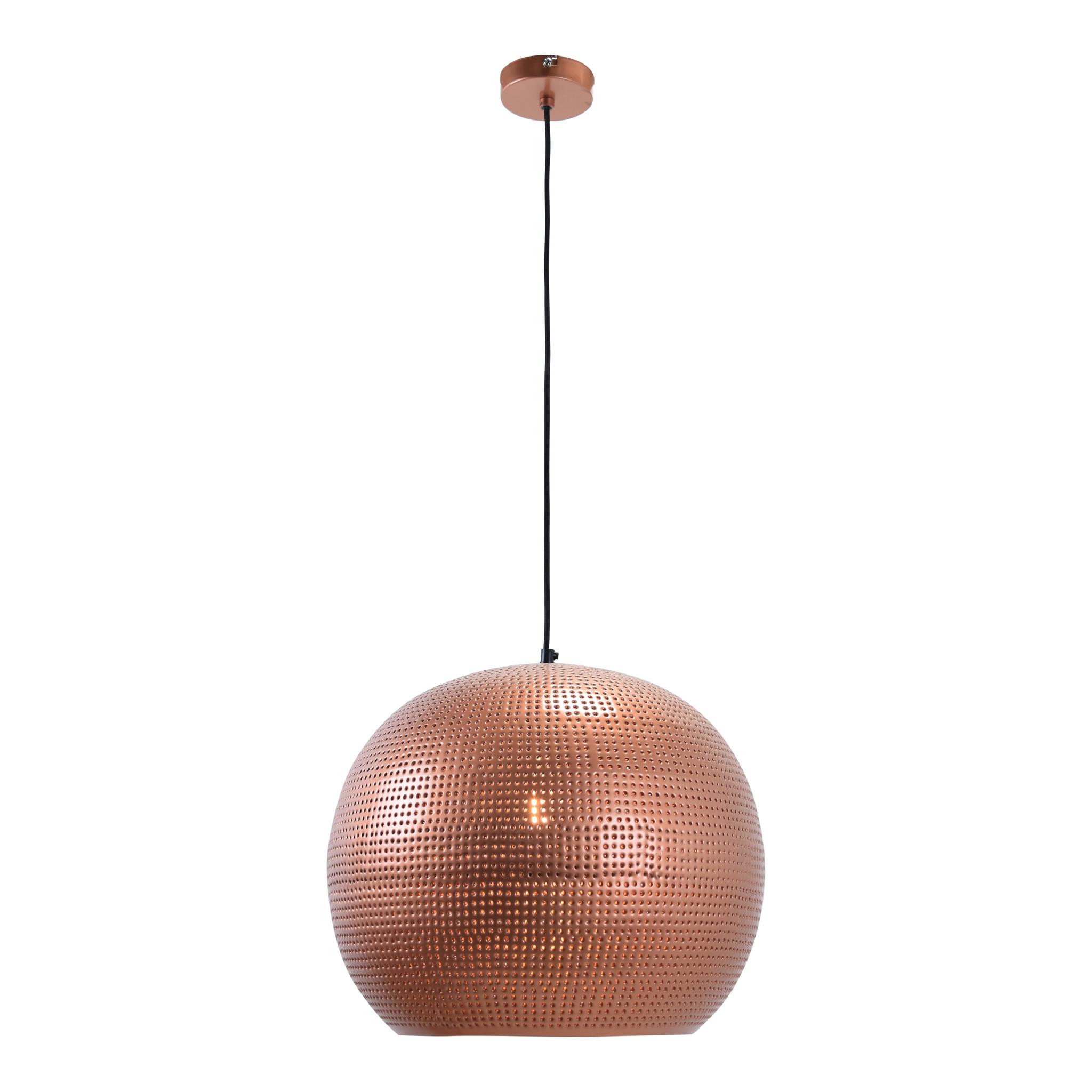Urban Interiors Urban Interiors Hanglamp Spike bol XL ø40cm Koper-AI-PL-007B-K-8719325467154