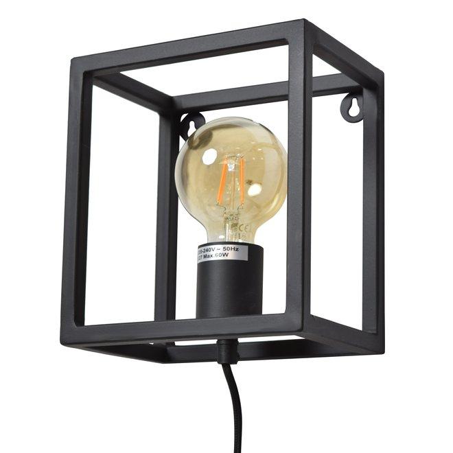 Wandlamp Frame Mat Zwart