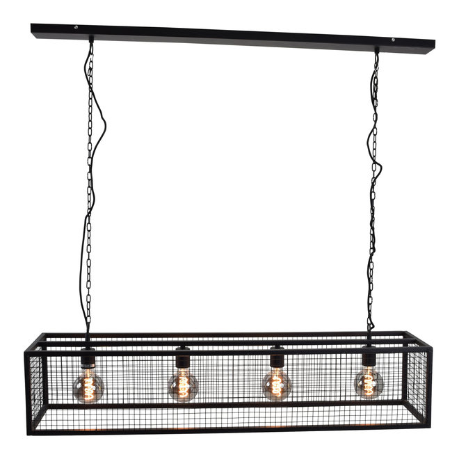 Urban Interiors Hanglamp Frame Gaas 4-lichts 120cm