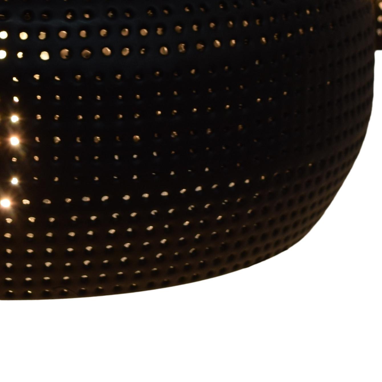 Urban Interiors Fez Hanglamp Zwart - 4 lichts - 120cm