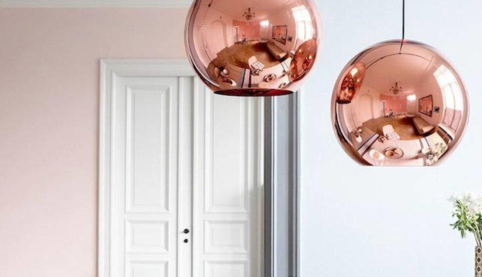 Ga voor marsala rood en koper oranje in je interieur!