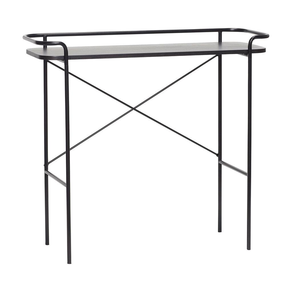 Hubsch Console tafel, metaal, zwart - 020614