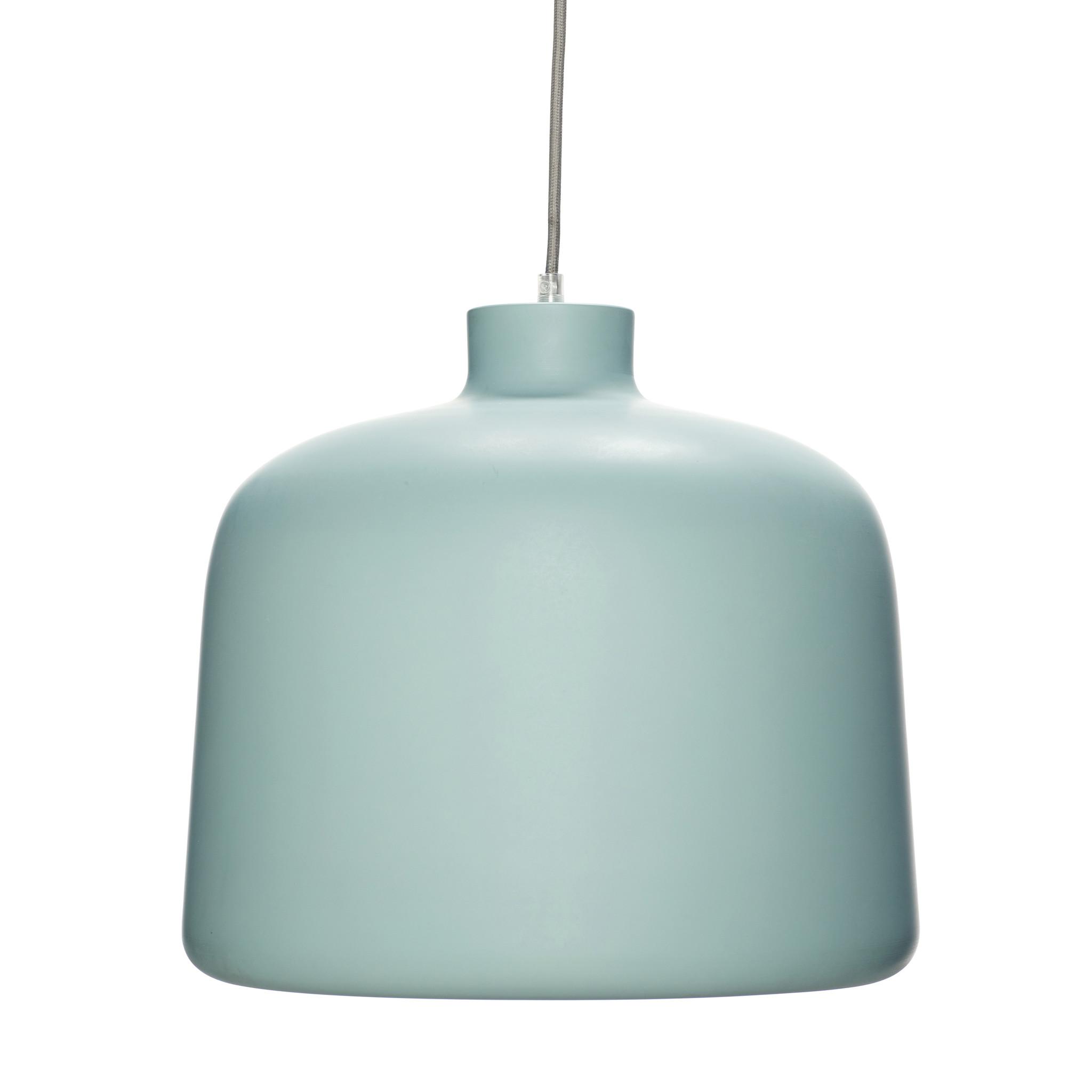 Hubsch Lamp, aluminium, groen / wit