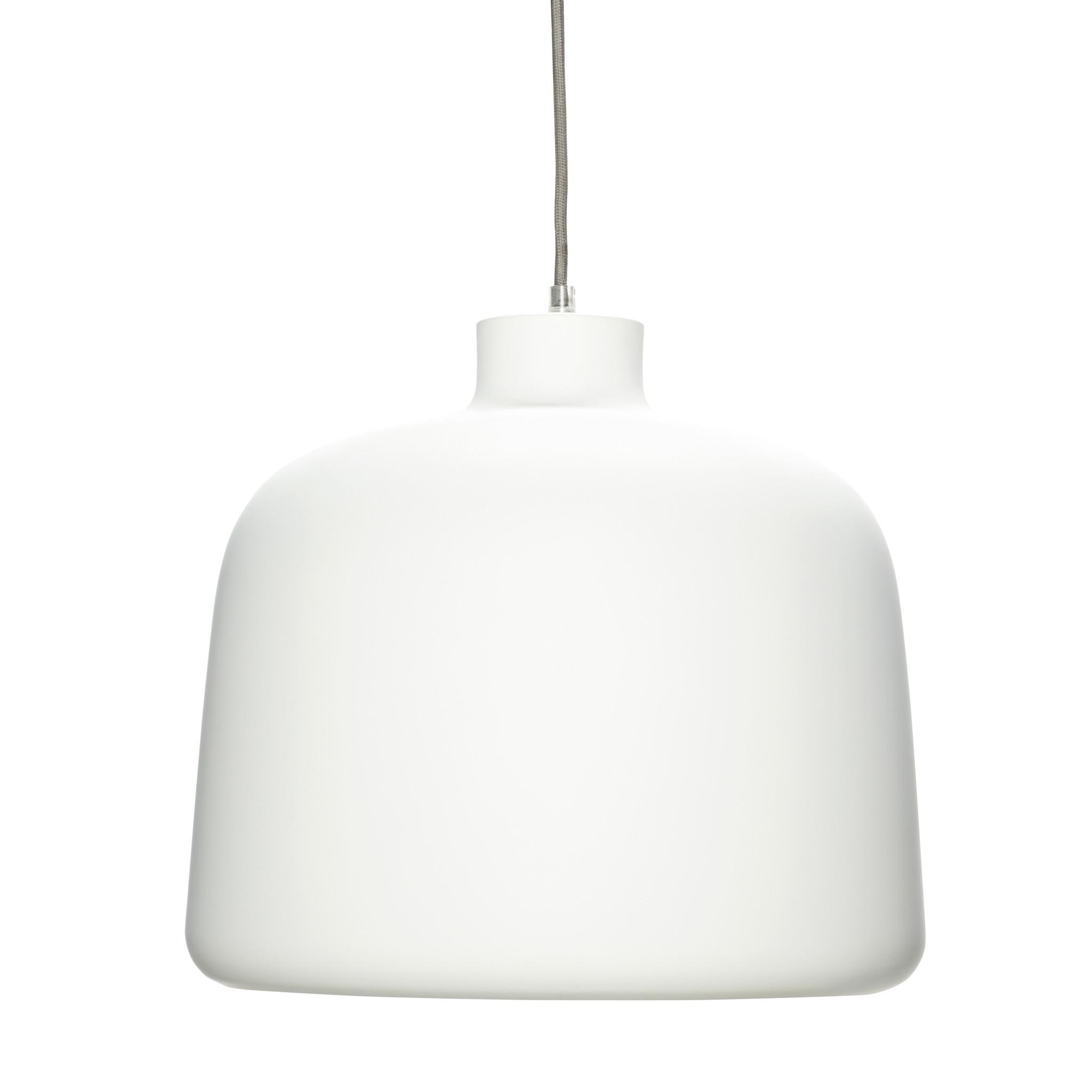 Hubsch Lamp, aluminium, wit / koper