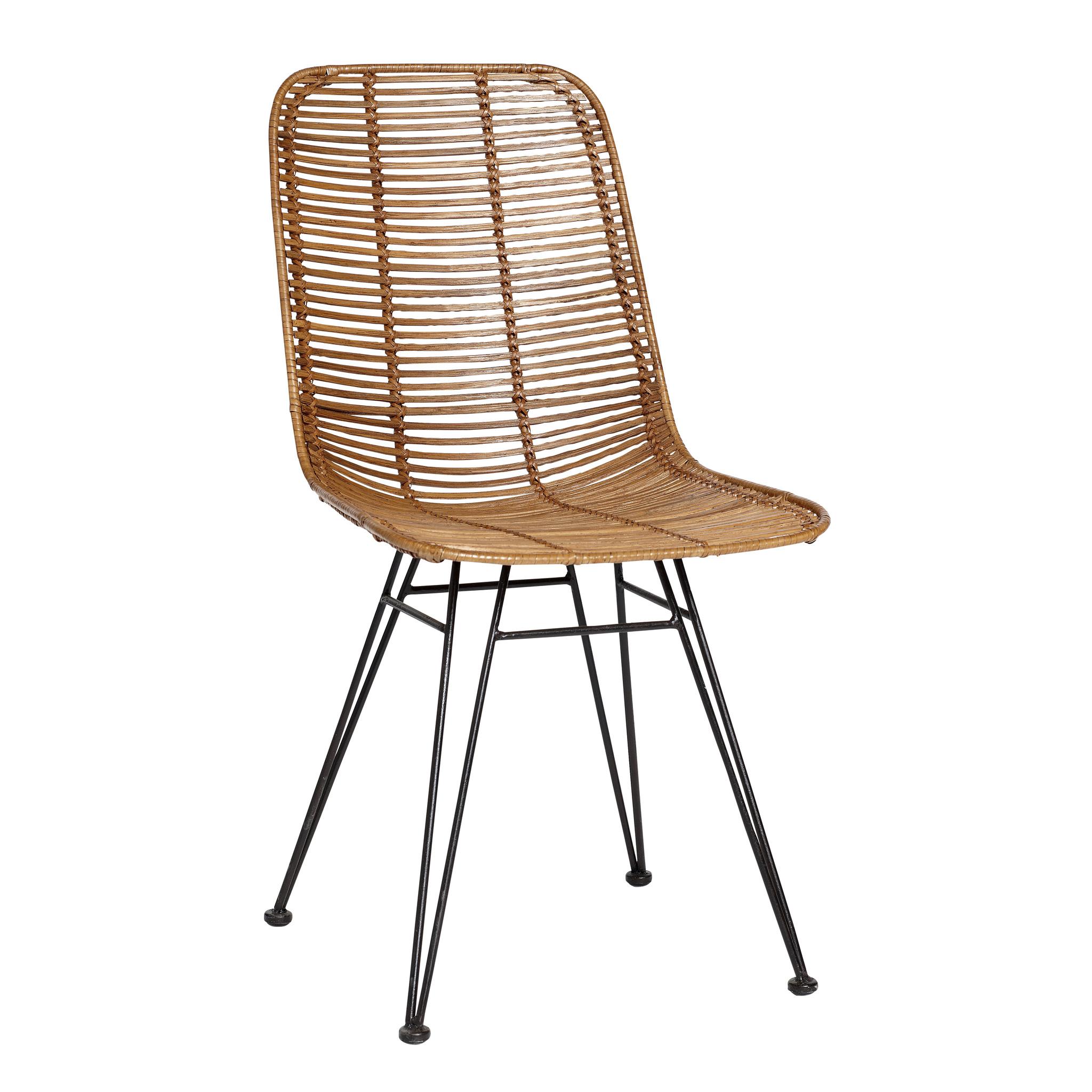 Hubsch Studio stoel, natuur
