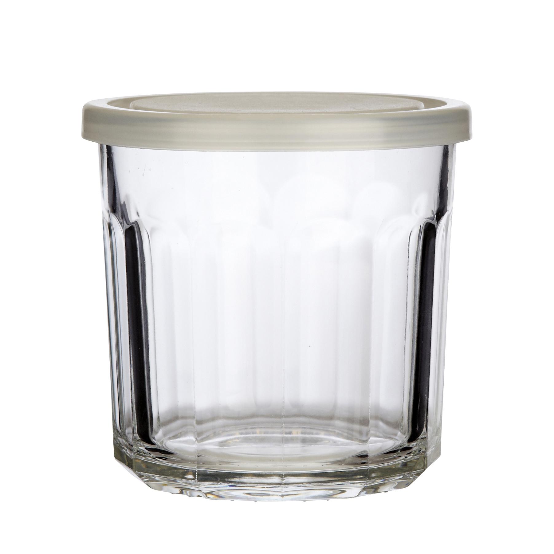 Hubsch Marmelade-glas, helder