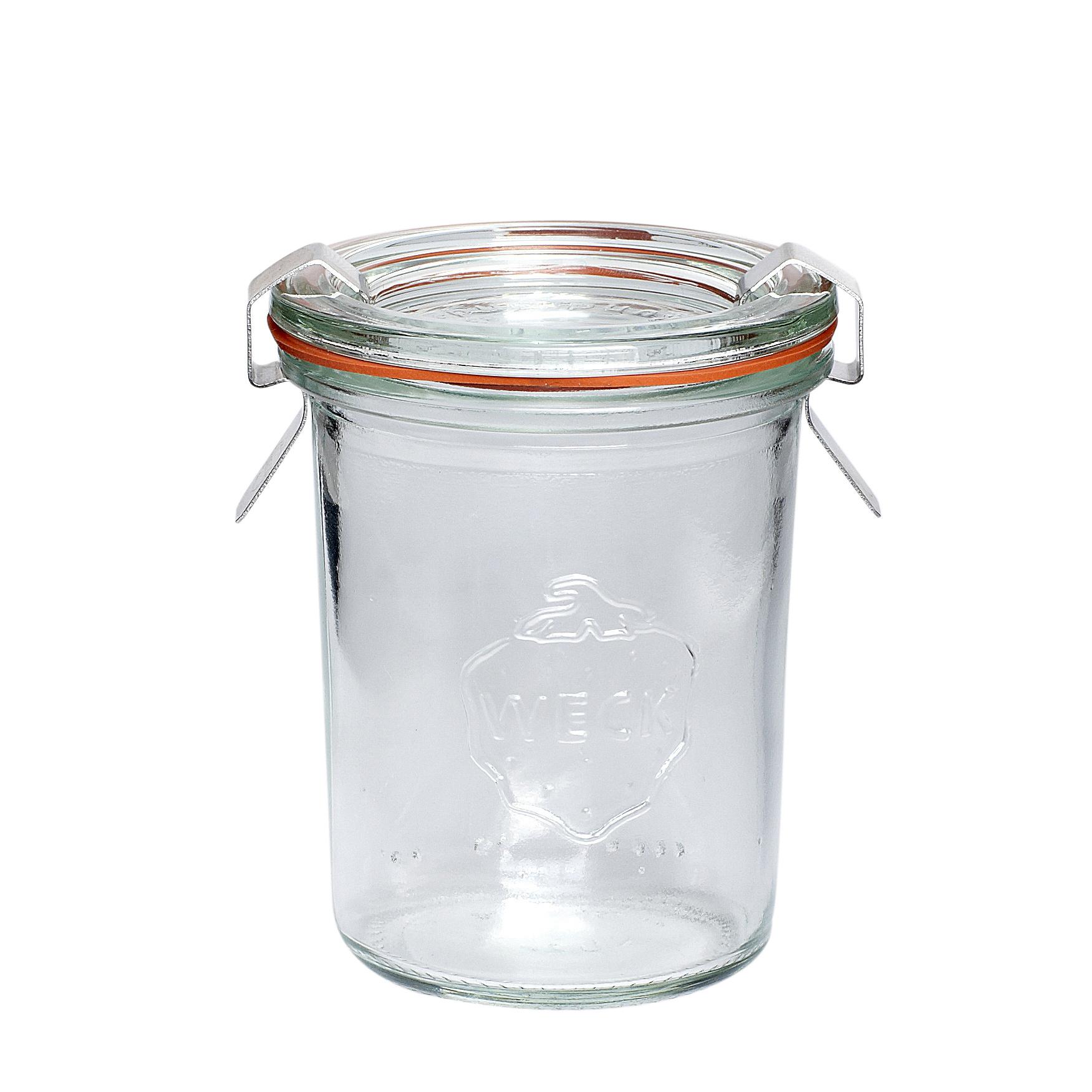 """Hubsch Voorraadpot met deksel, """"Weck"""", glas, 160 ml-185002-5712772069868"""