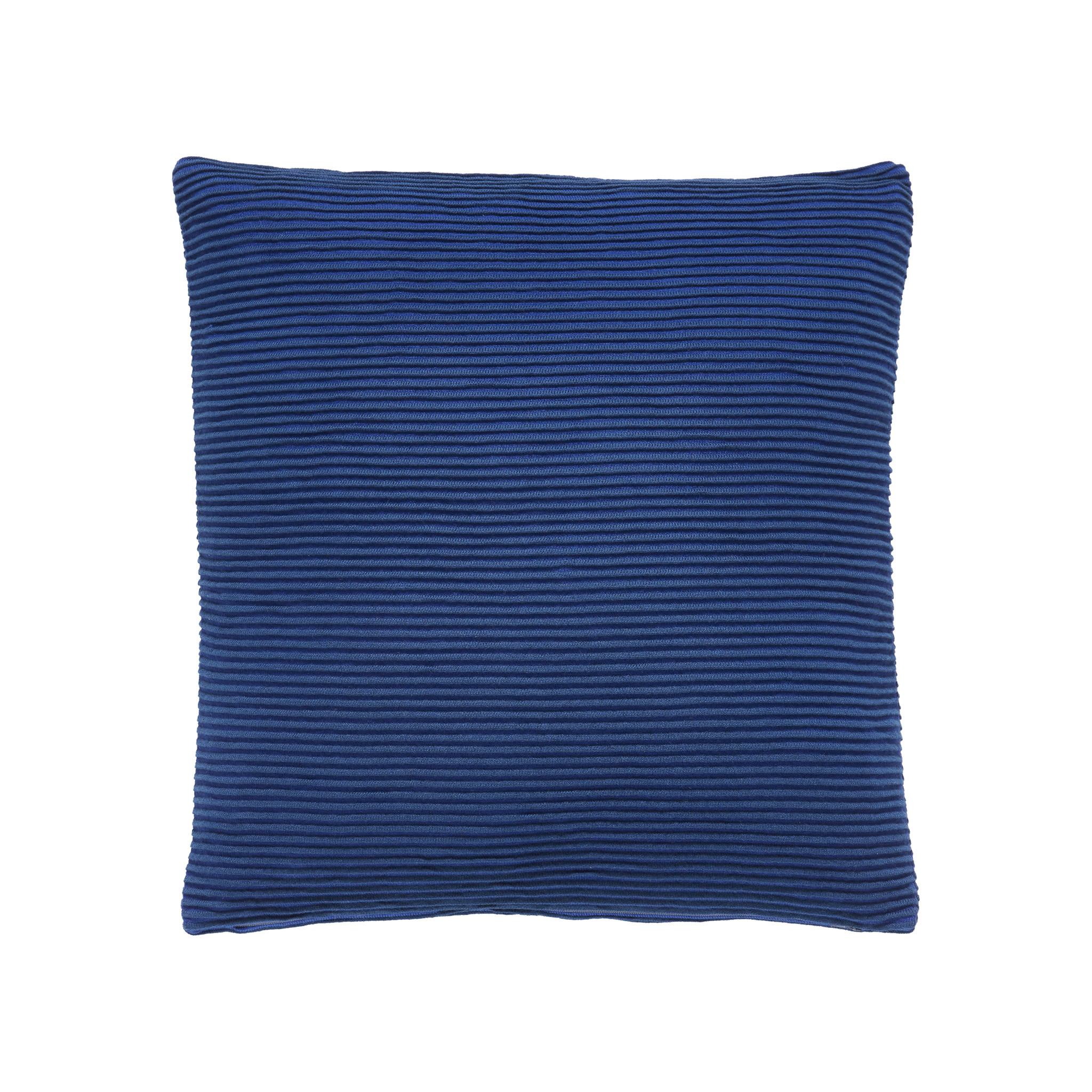 Hubsch Kussen met patroon / vuller, katoen, blauw
