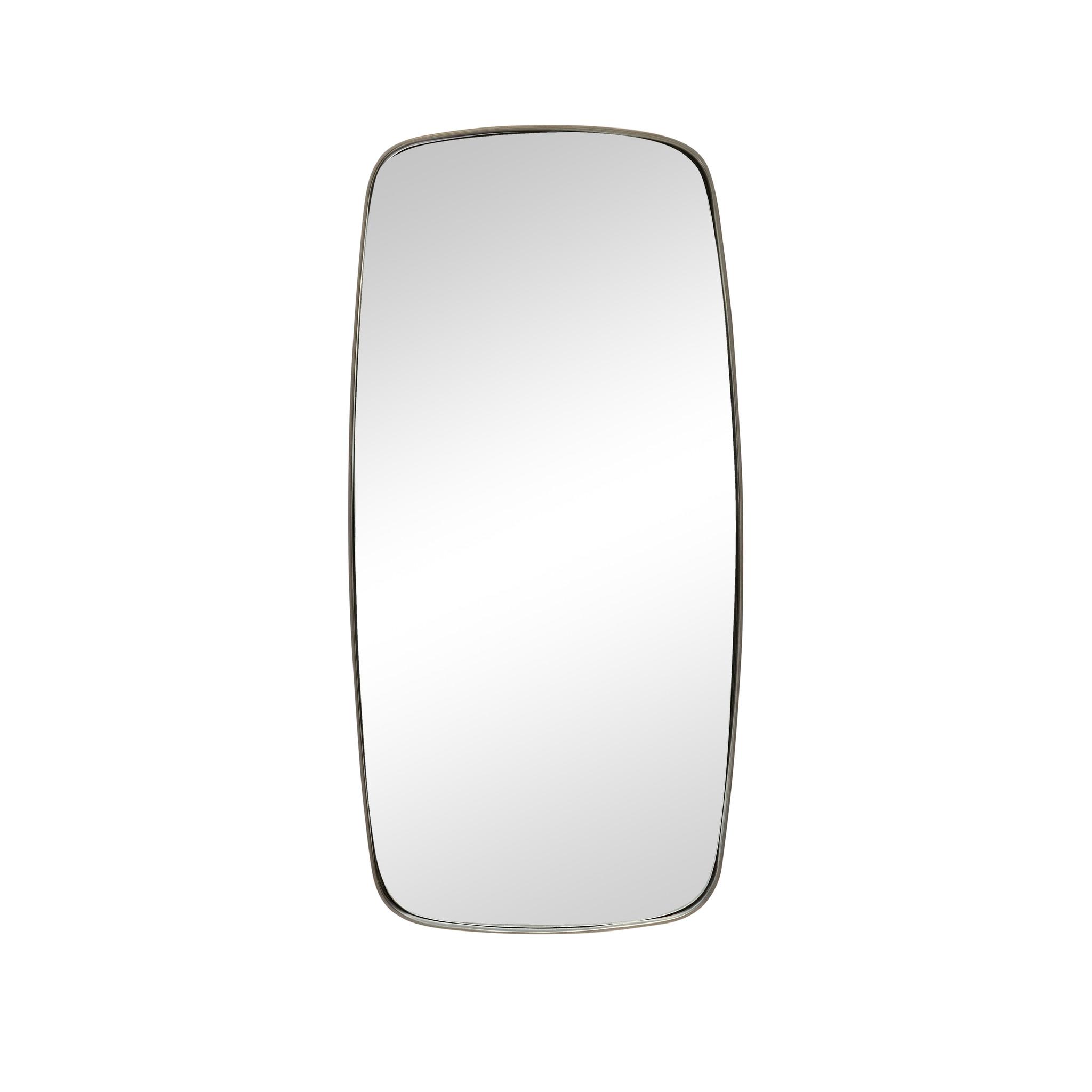 Hubsch Wandspiegel met metalen frame, vierkant-340504-5712772060940