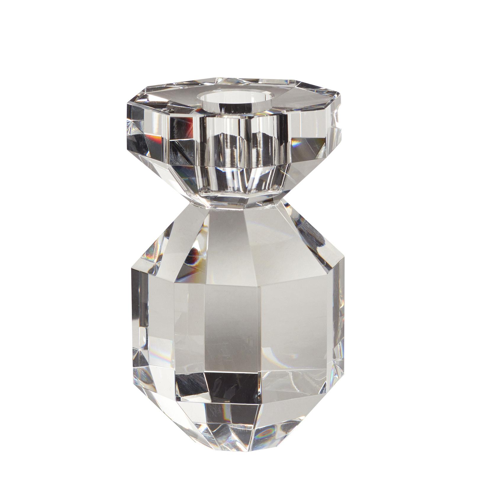 Hubsch Kandelaar, glas, helder-340908-5712772070451