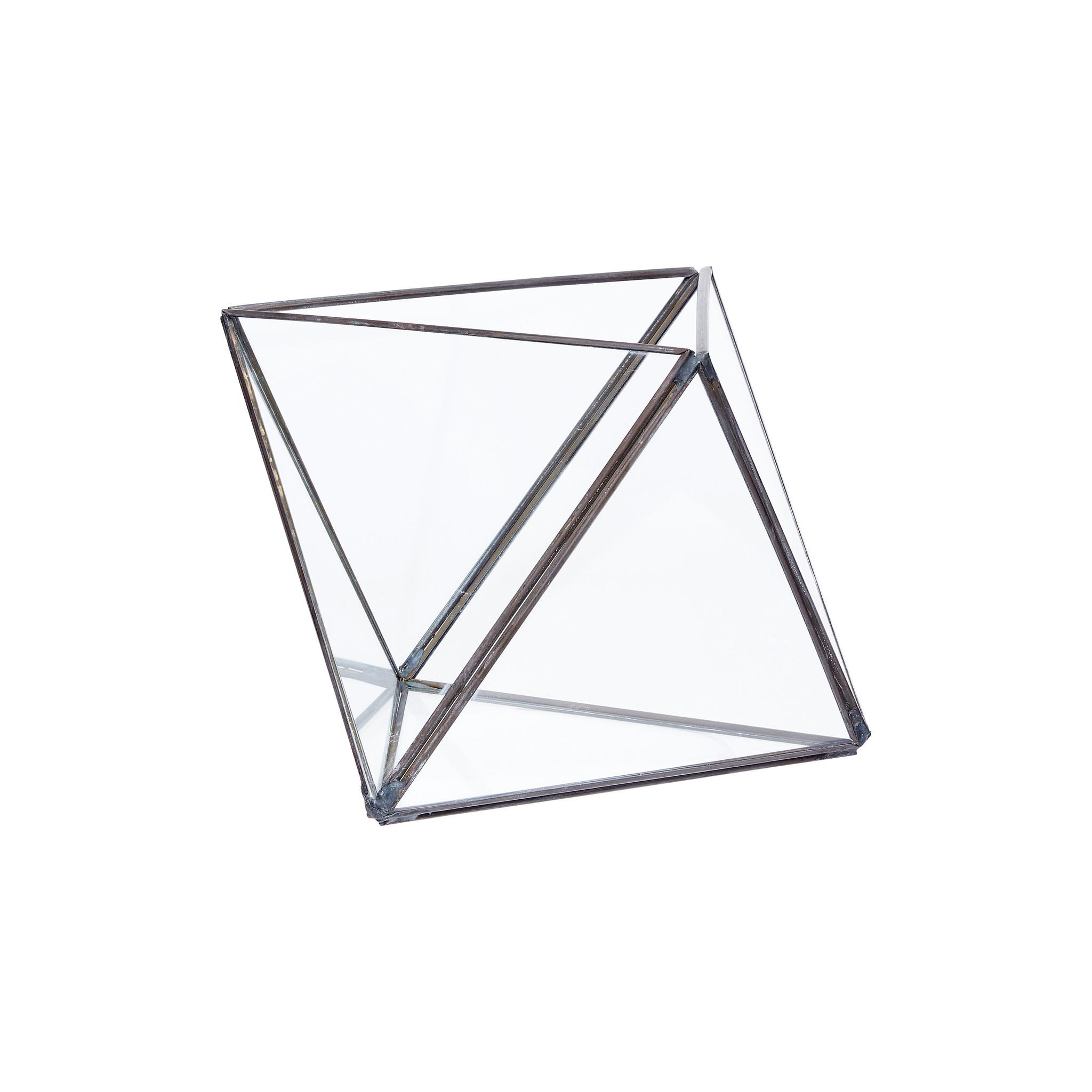 Hubsch Terrarium, metaal / glas