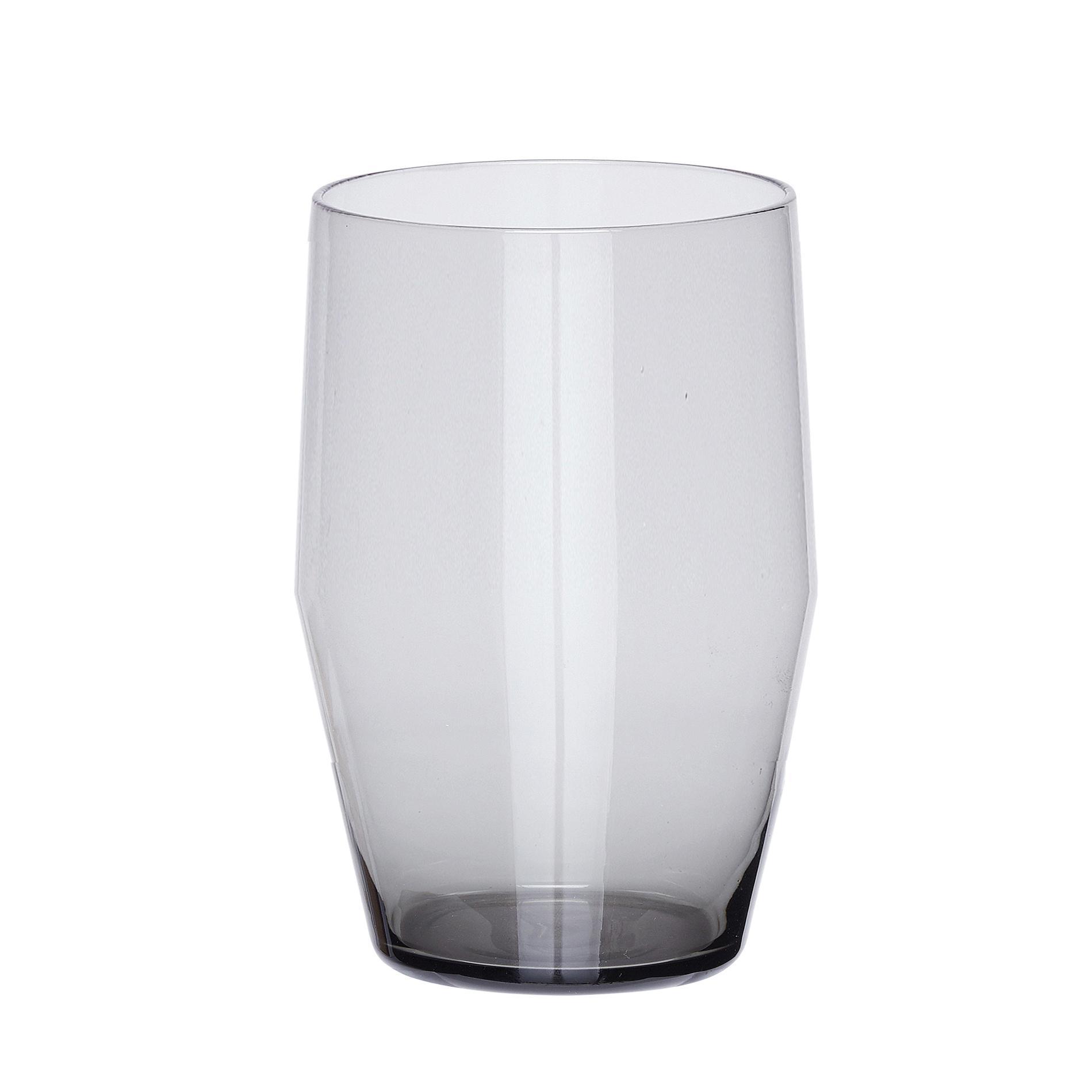 Hubsch Drinkglas, grijs-480105-5712772047101
