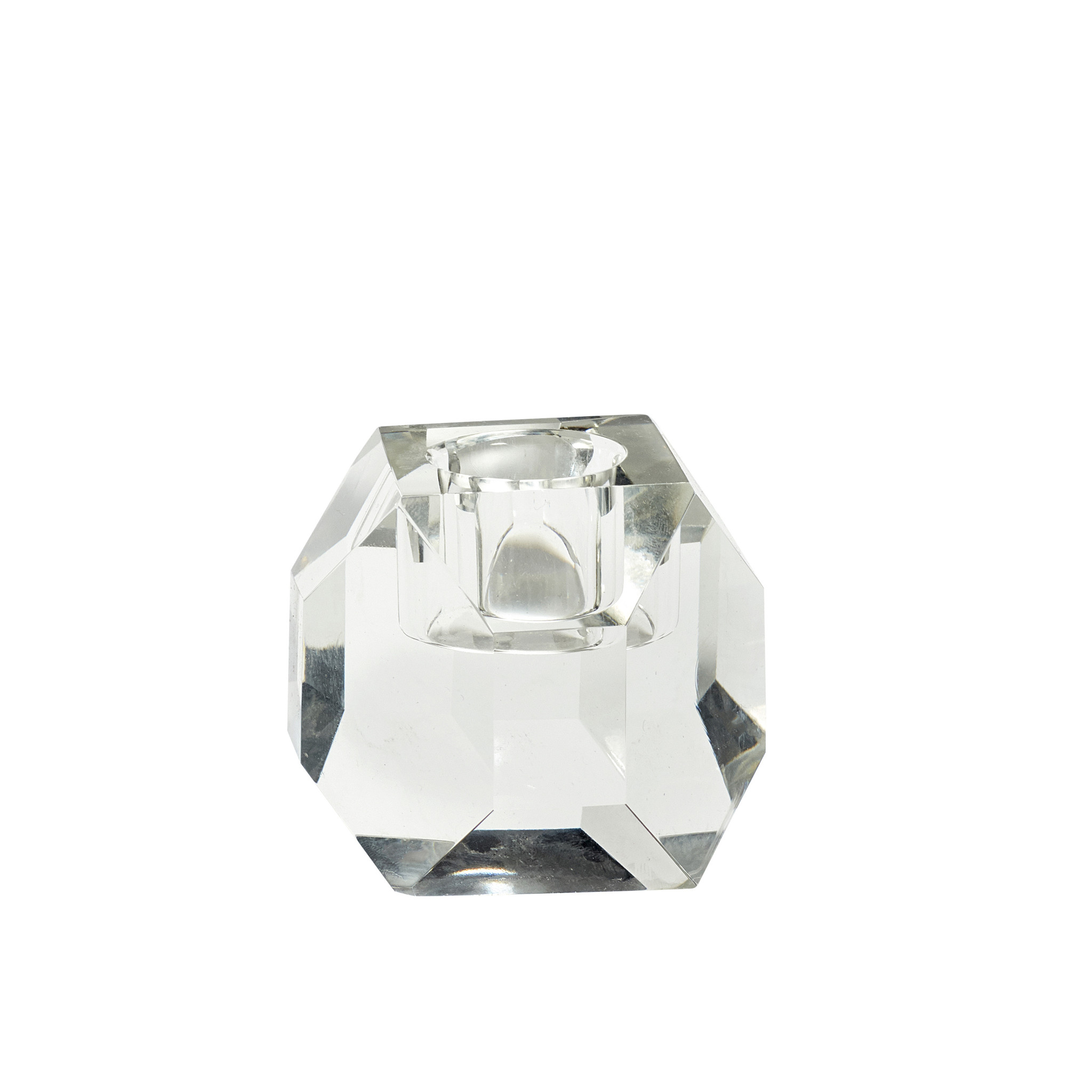 Hubsch Kandelaar, glas, helder-640505-5712772062579