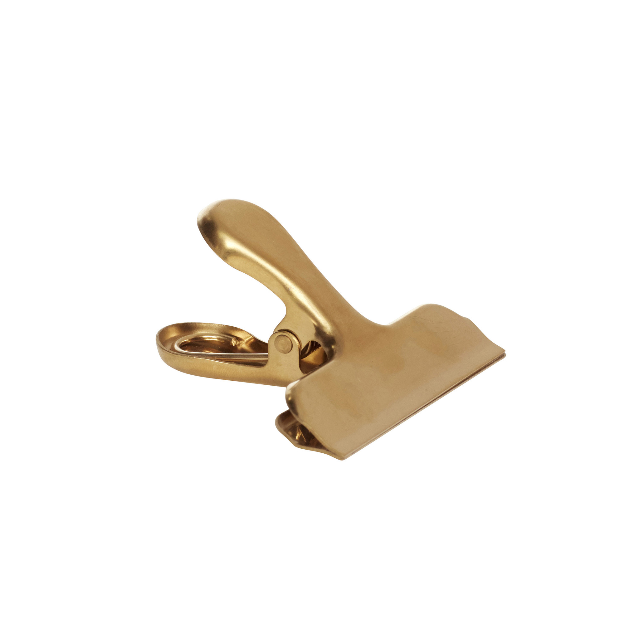 Hubsch Clip, metaal, messing, set van 8-640924-5712772071342