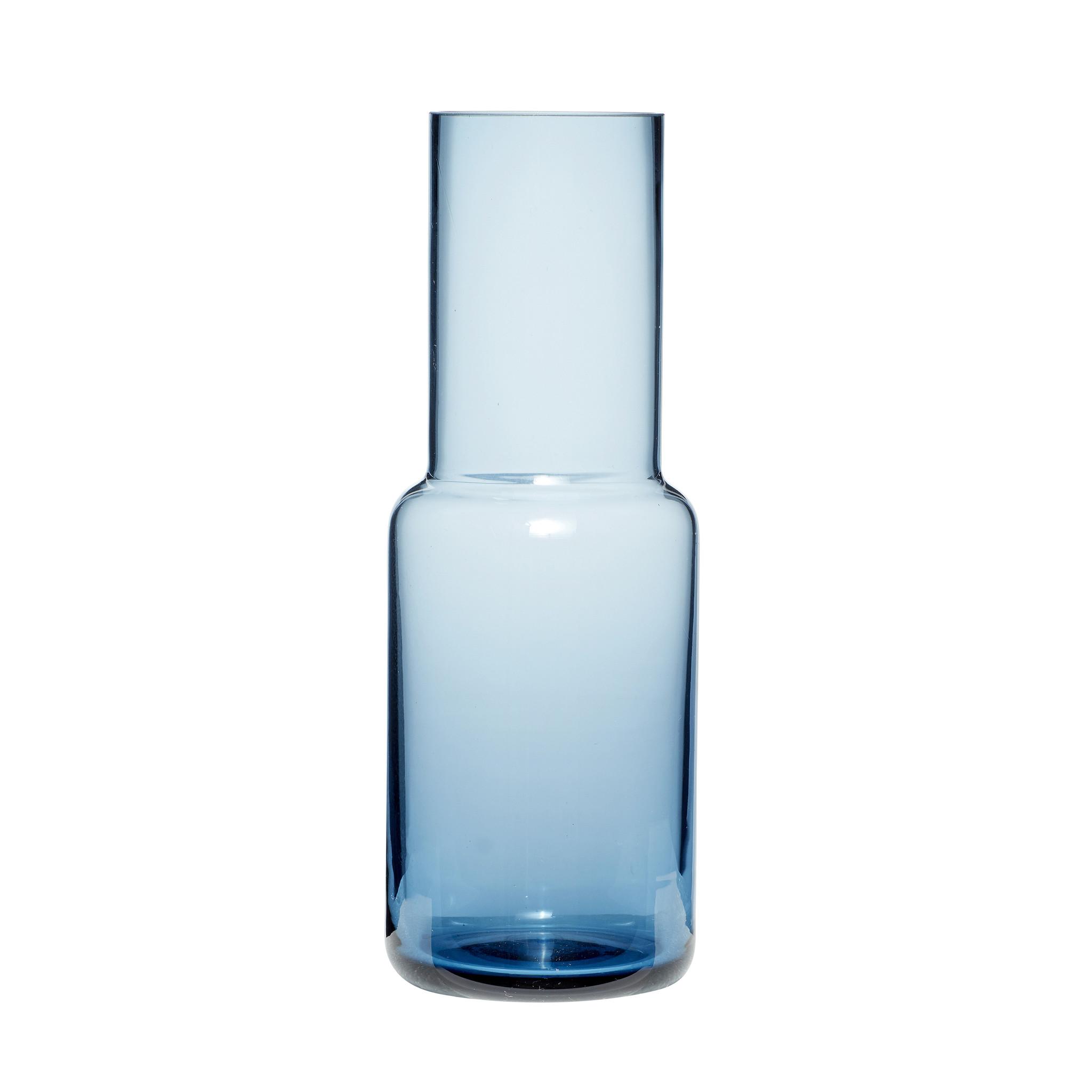 Hubsch Vaas, glas, blauw