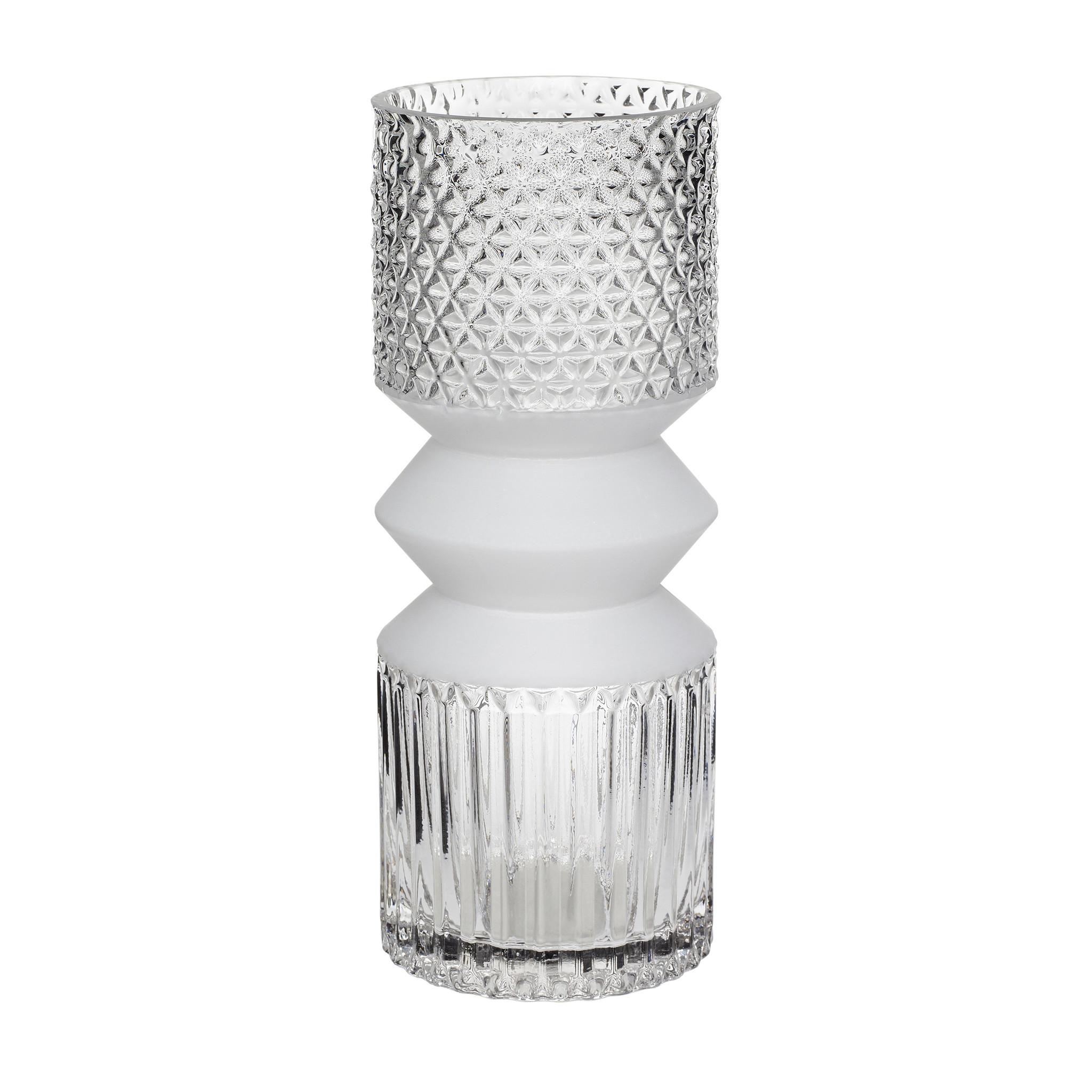 Hubsch Vaas, glas, helder-660804-5712772056493