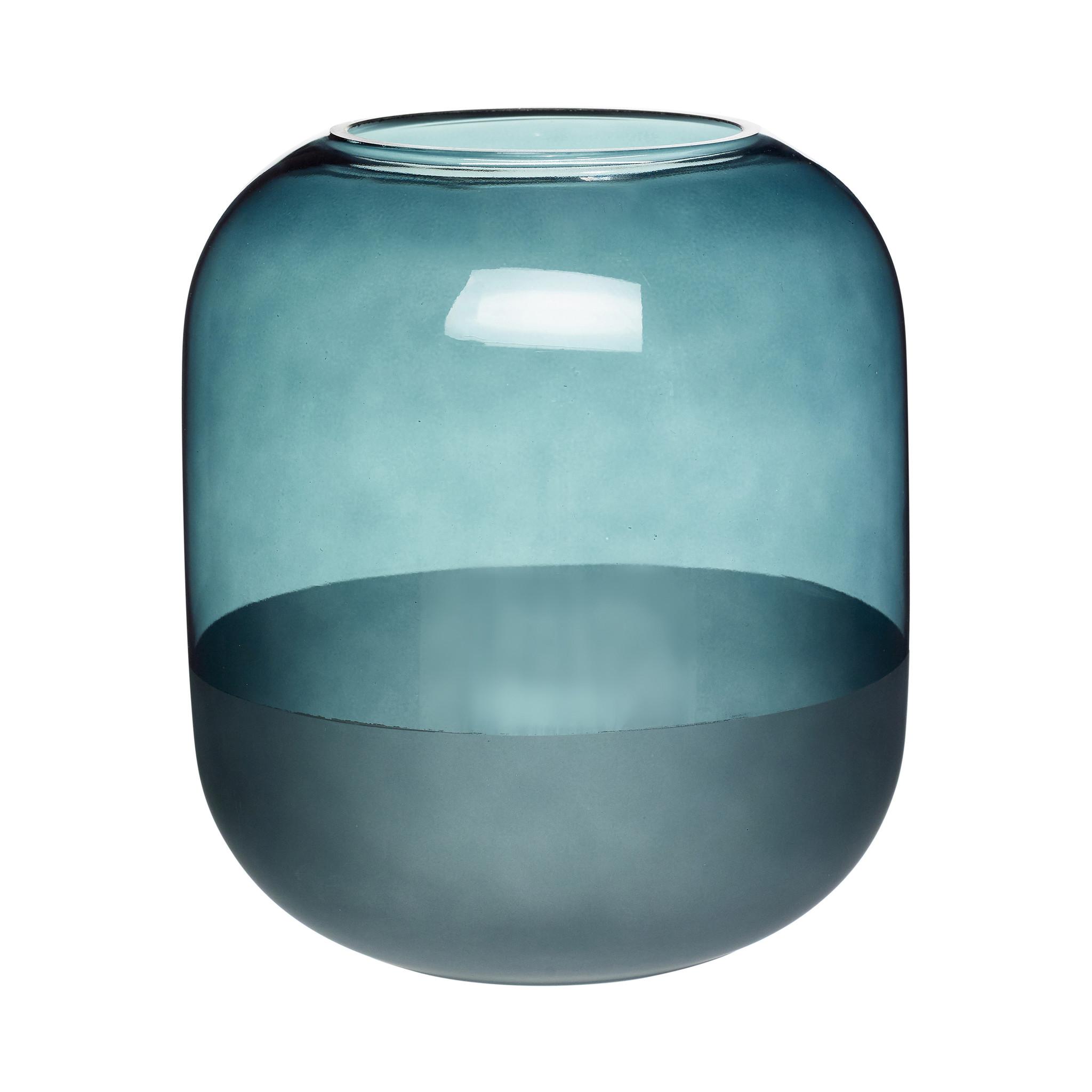 Hubsch Vaas, glas, mat groen-660806-5712772068229