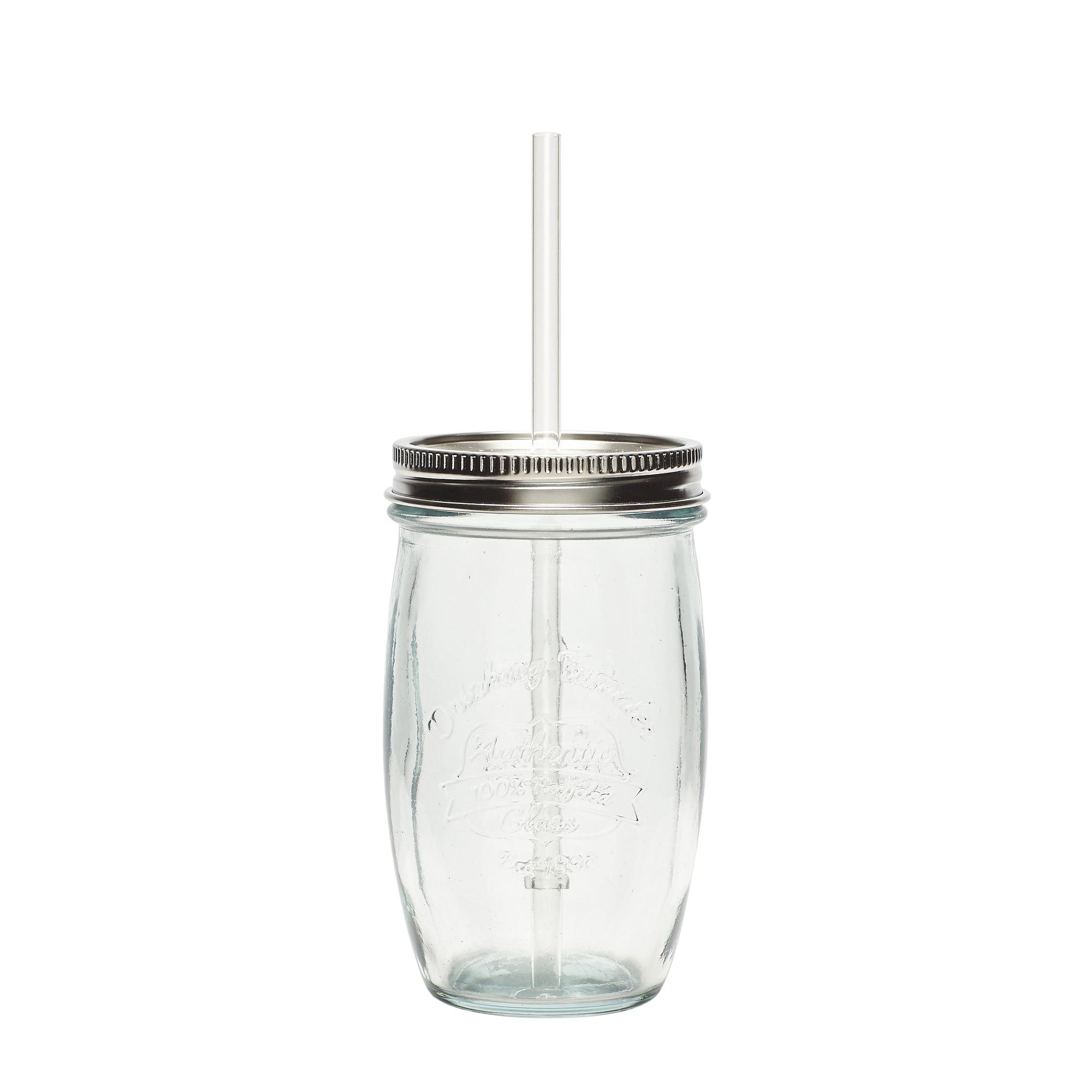 Hubsch Drinkglas, gerecycled glas, helder