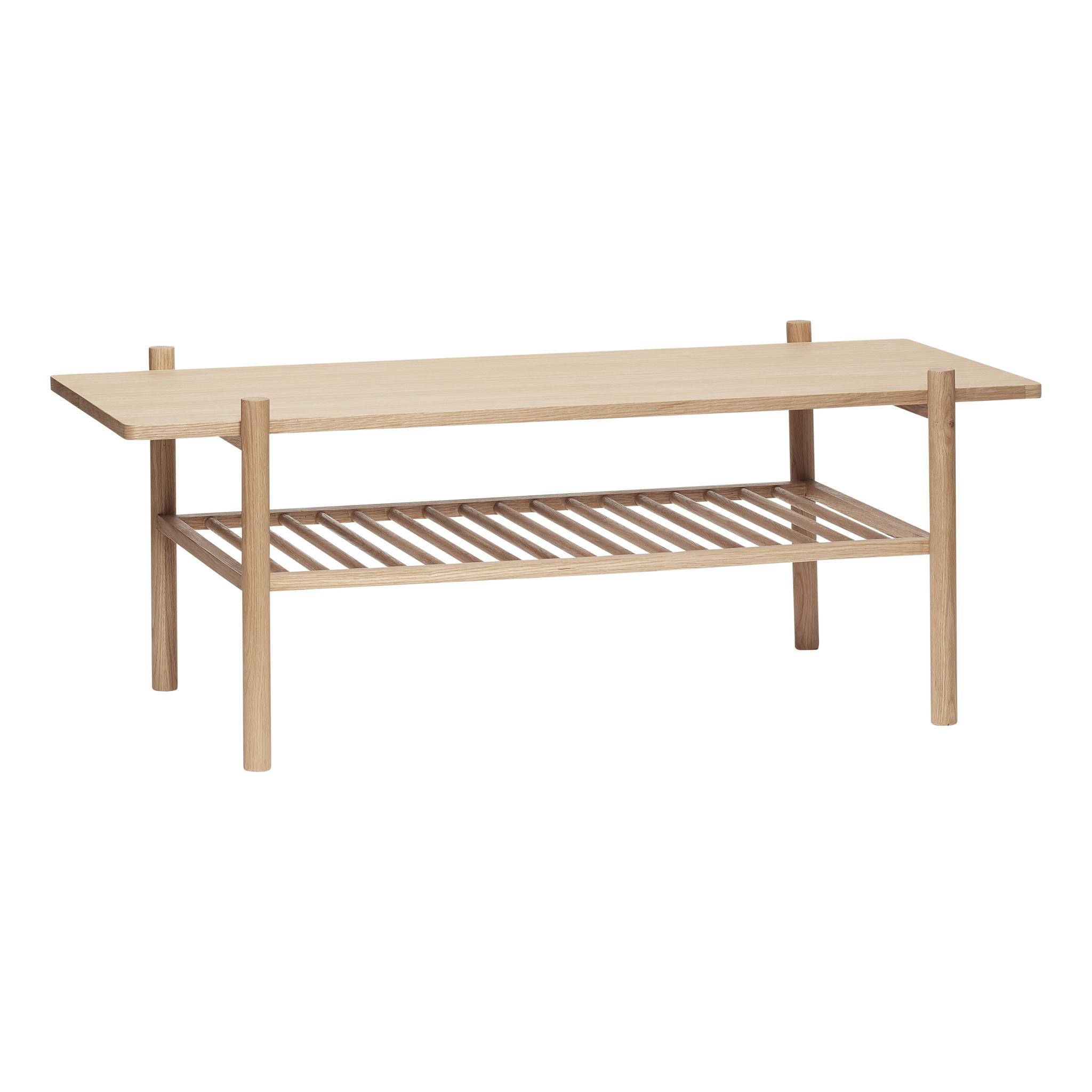 Hubsch Tafel met plank, eiken, natuur