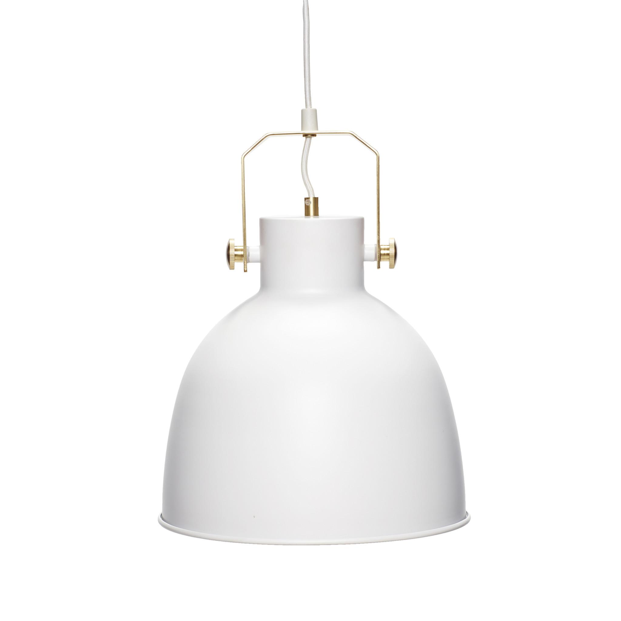 Hubsch Lamp, wit / goud