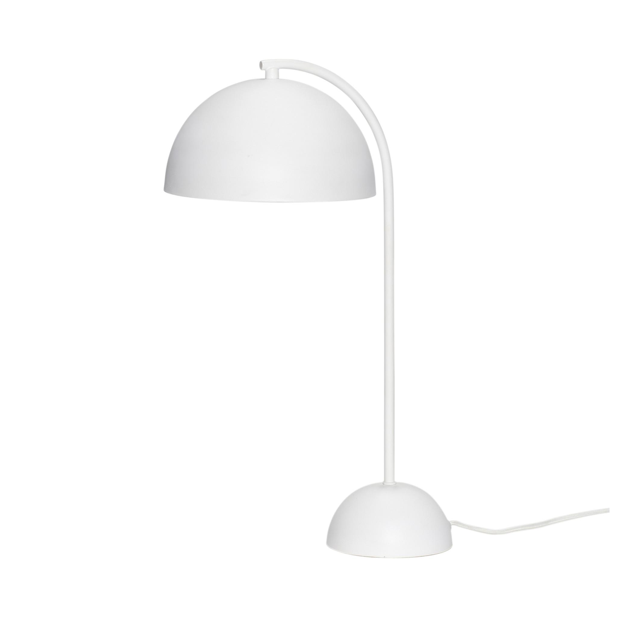 Hubsch Tafellamp, metaal, wit