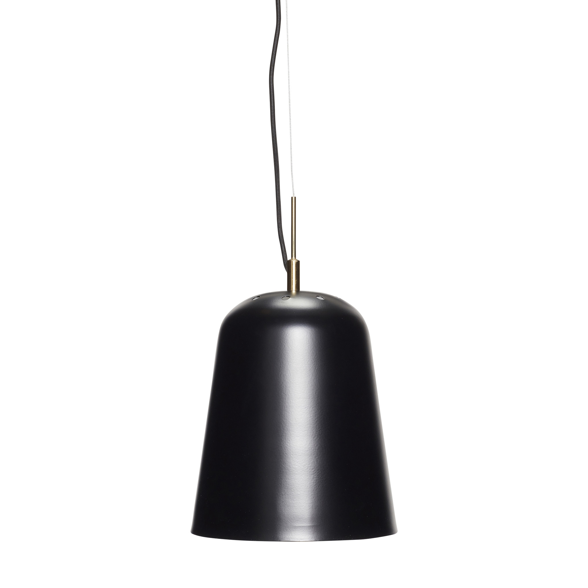 Hubsch Lamp, metaal, zwart-990609-5712772063811