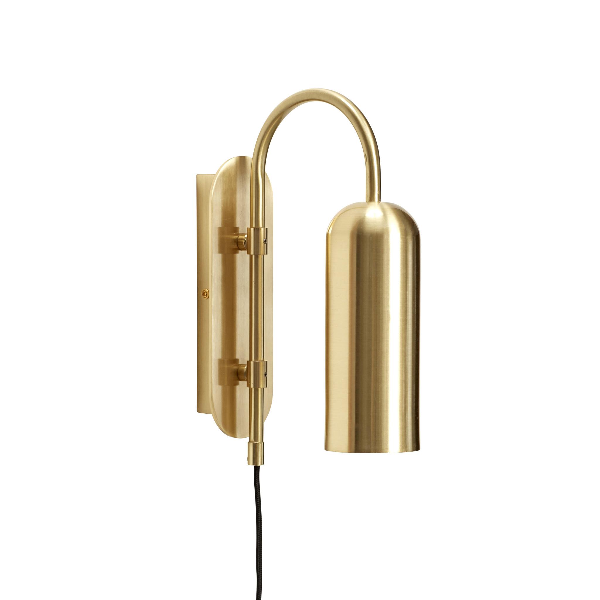 Hubsch Wandlamp, messing-990911-5712772071168